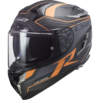 GRID Matt Carbon Orange