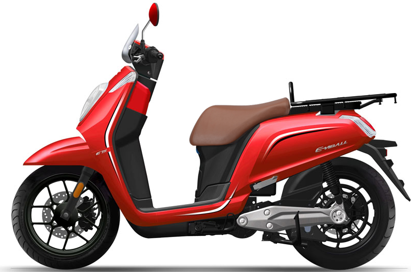 Daytona e-Viball 125 Business scooter - Αργυρόπουλος Moto Πάτρα actionsbike.gr